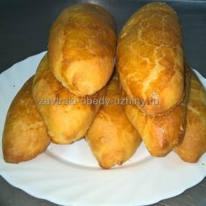 Пирожок с капустой <br> 100 гр. <b>30-00 руб.</b>