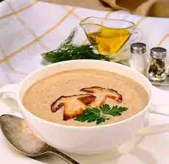 Пошаговый рецепт грибного супа
