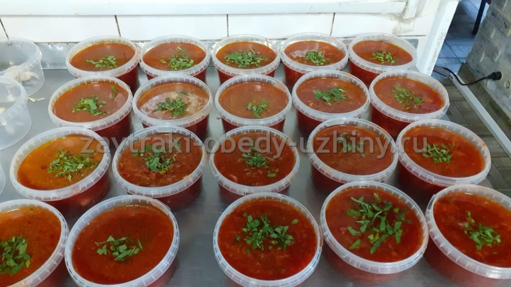 суп для работников